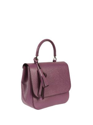 Max Mara: totes bags online - Top04 printed leather handbag