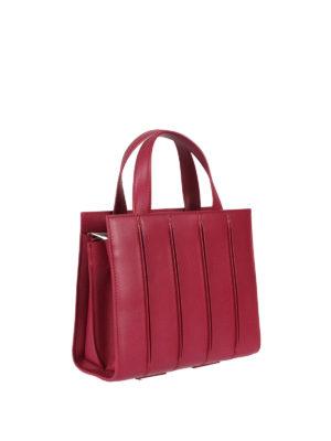 Max Mara: totes bags online - Whitney fuchsia leather small bag