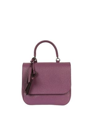 Max Mara: totes bags - Top04 printed leather handbag