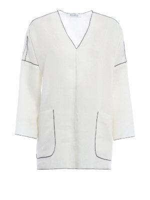 Max Mara: tunics - Duero pure linen over tunic