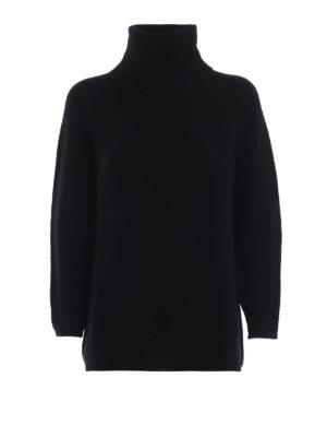 Max Mara: maglia a collo alto e polo - Dolcevita Etrusco in lana e cashmere