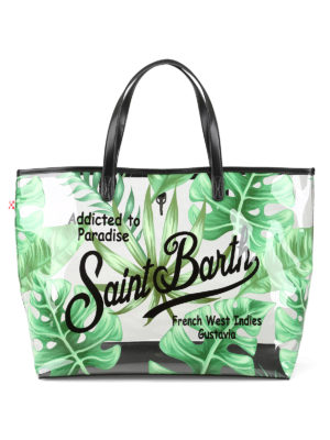 MC2 SAINT BARTH: totes bags - Las Vegas transparent beach bag