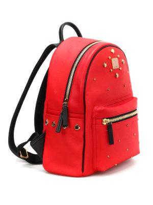 Mcm: backpacks online - Small Stark Odeon studded backpack