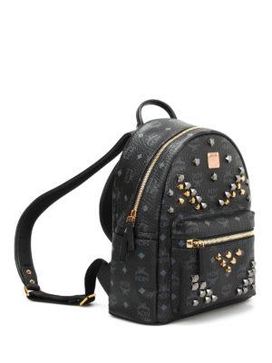 Mcm: backpacks online - Small Stark studded backpack