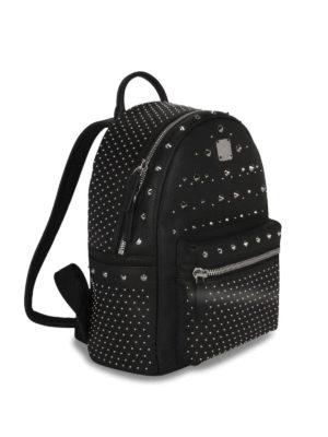 Mcm: backpacks online - Stark Special studded backpack