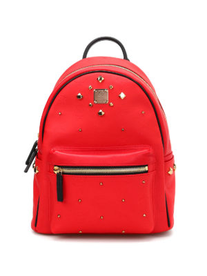 Mcm: backpacks - Small Stark Odeon studded backpack