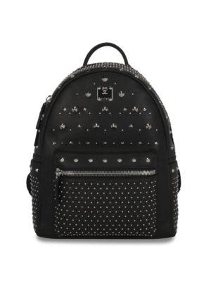 Mcm: backpacks - Stark Special studded backpack