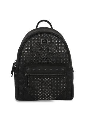Mcm: backpacks - Visetos embellished backpack