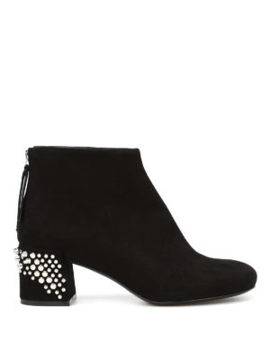 Mcq: ankle boots - Pembury suede ankle boots