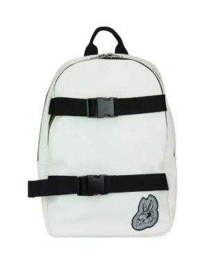 Mcq: backpacks - Bunny faux leather backpack