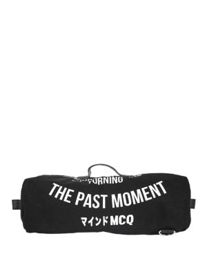 Mcq: backpacks - Japanese Noise print backpack-bag