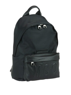 Mcq: backpacks online - Embossed logo backpack