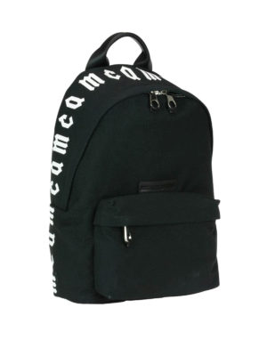 Mcq: backpacks online - McQ Repeat print backpack