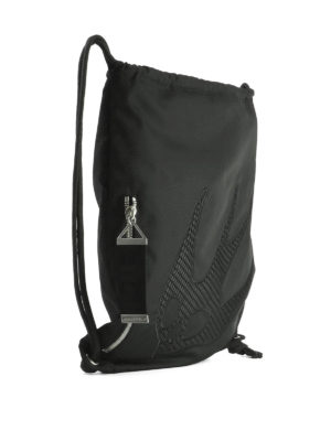 Mcq: backpacks online - Swallow patch nylon backpack