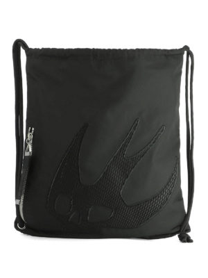 Mcq: backpacks - Swallow patch nylon backpack