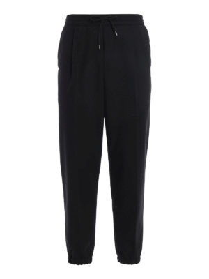 Mcq: casual trousers - Cool wool track trousers