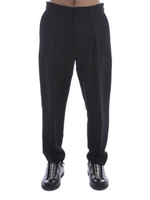 Mcq: casual trousers online - Pleated trousers