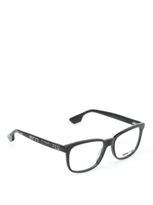 Mcq: glasses - Embellished temple optical glasses