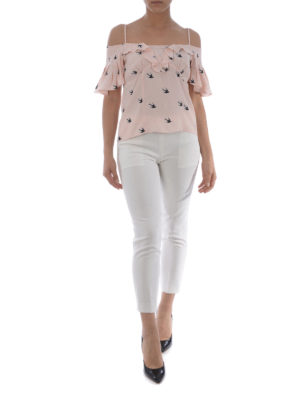 MCQ: bluse online - Blusa Pin Up Swallow rosa