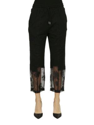 MCQ: pantaloni casual online - Pantaloni della tuta pizzo in fondo