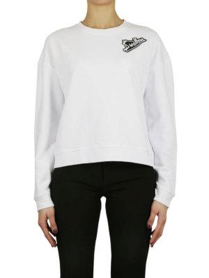 MCQ: Felpe e maglie online - Felpa in cotone con patch Swallow