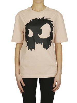MCQ: t-shirt online - T-shirt pesca con stampa mostro