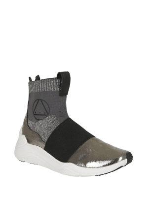 MCQ: sneakers online - Sneaker alte a calza Hikaru