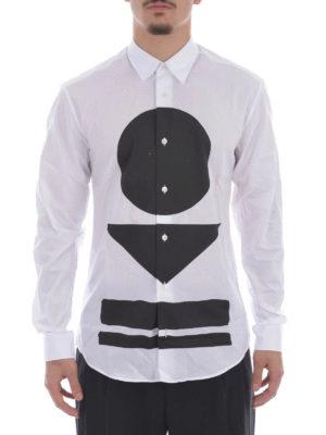 Mcq: shirts online - Warrior Markings print shirt