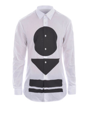 Mcq: shirts - Warrior Markings print shirt