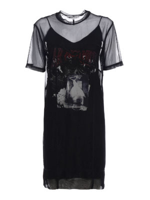 Mcq: short dresses - Fear Nothing double layer dress