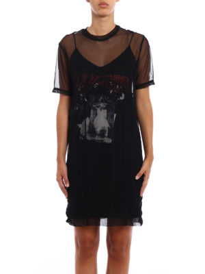 Mcq: short dresses online - Fear Nothing double layer dress