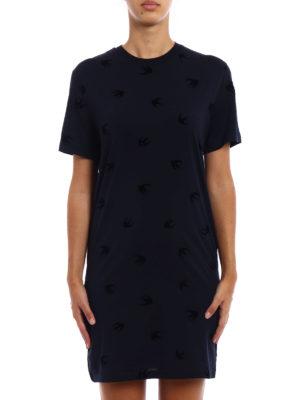 Mcq: short dresses online - Micro Swallow cotton dress