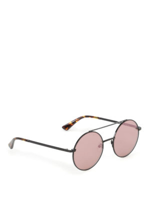 Mcq: sunglasses - Black metal  sunglasses