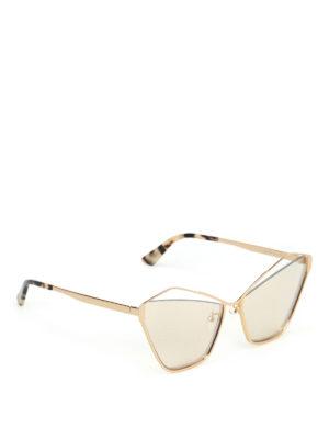 MCQ: occhiali da sole - Occhiali da sole a occhi di gatto con cut out