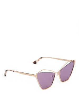 MCQ: occhiali da sole - Occhiali da sole a occhi di gatto cut out