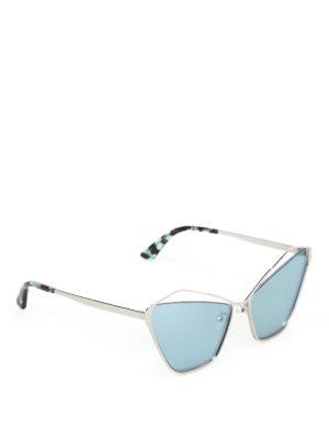 MCQ: occhiali da sole - Occhiali da sole a occhi di gatto con cut-out
