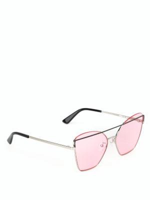 MCQ: occhiali da sole - Occhiali da sole a occhi di gatto in metallo