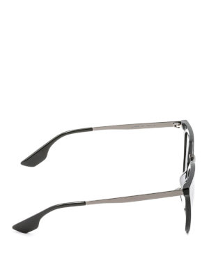 Mcq: sunglasses online - Acetate and metal sunglasses