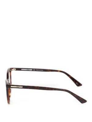 Mcq: sunglasses online - Havana cat-eye sunglasses