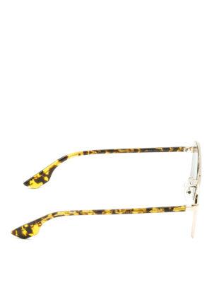Mcq: sunglasses online - Havana temples sunglasses