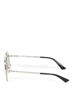 Mcq: sunglasses online - Metal sunglasses with mirror lenses