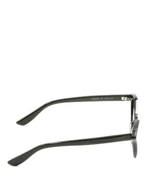 Mcq: sunglasses online - Studded half frame sunglasses