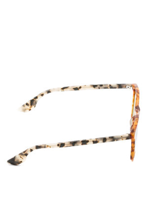 Mcq: sunglasses online - Two-tone tortoiseshell sunglasses