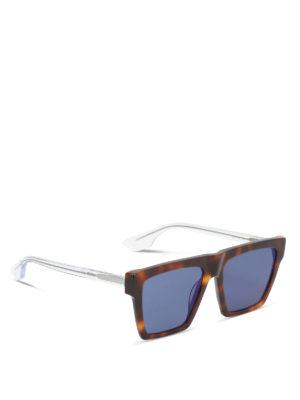 Mcq: sunglasses - Tortoiseshell sunglasses