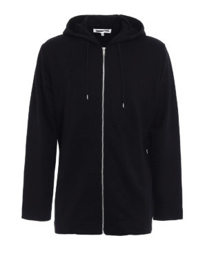 Mcq: Sweatshirts & Sweaters - Long hoodie with back ribbons