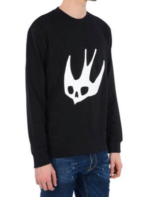 Mcq: Sweatshirts & Sweaters online - Dove print sweatshirt