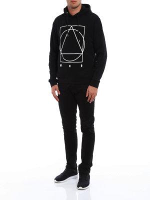 Mcq: Sweatshirts & Sweaters online - Logo print cotton hoodie
