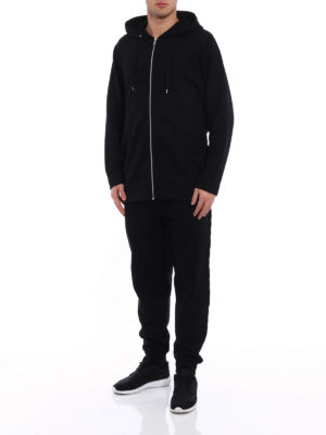 Mcq: Sweatshirts & Sweaters online - Long hoodie with back ribbons