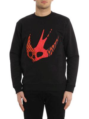 Mcq: Sweatshirts & Sweaters online - Swallow patch sweatshirt