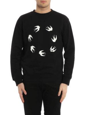 Mcq: Sweatshirts & Sweaters online - Swallow print sweatshirt